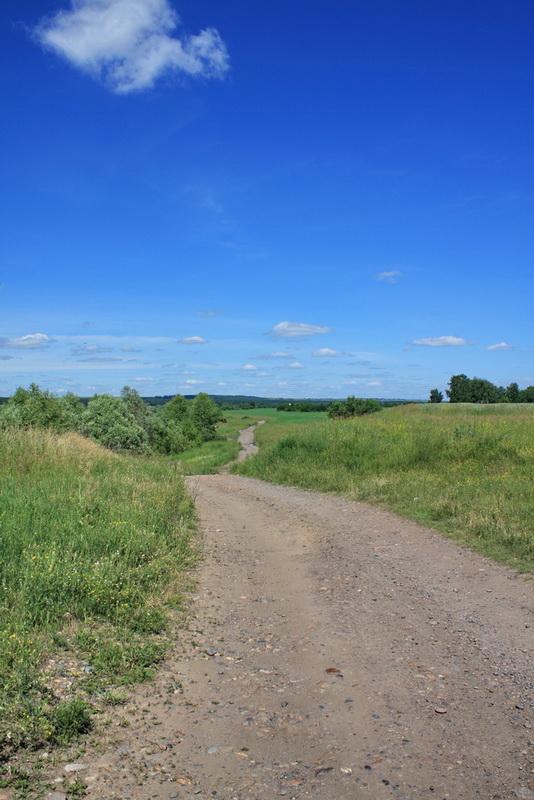 Алтай, лето, дорога