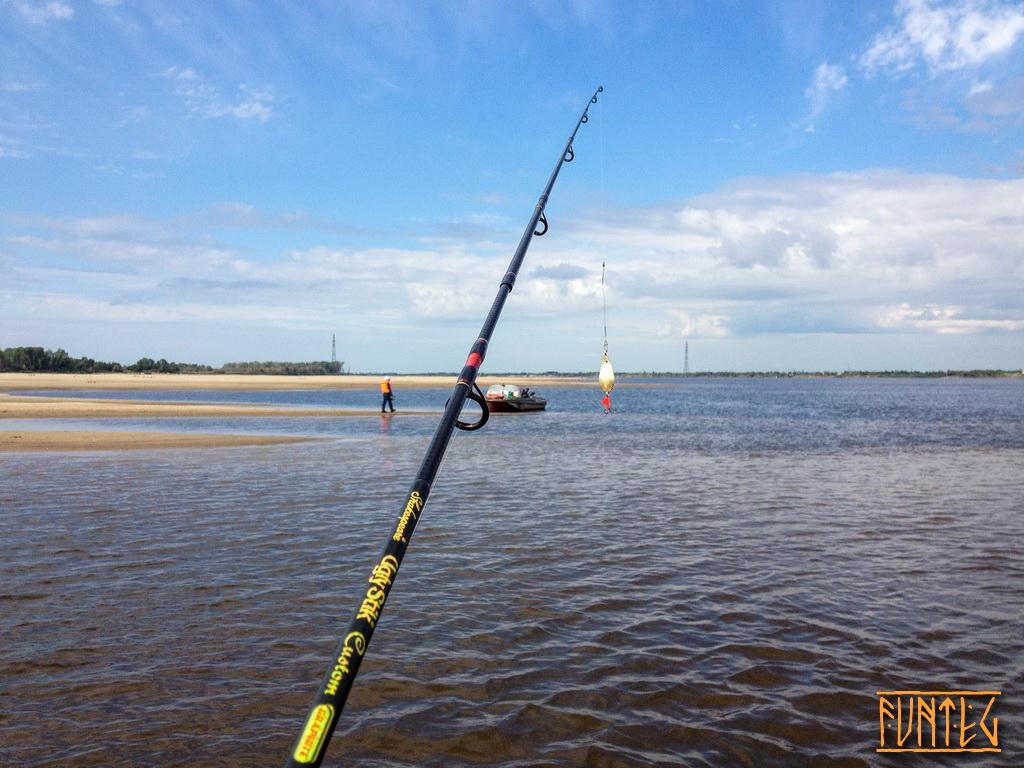 Рыбалка на песках