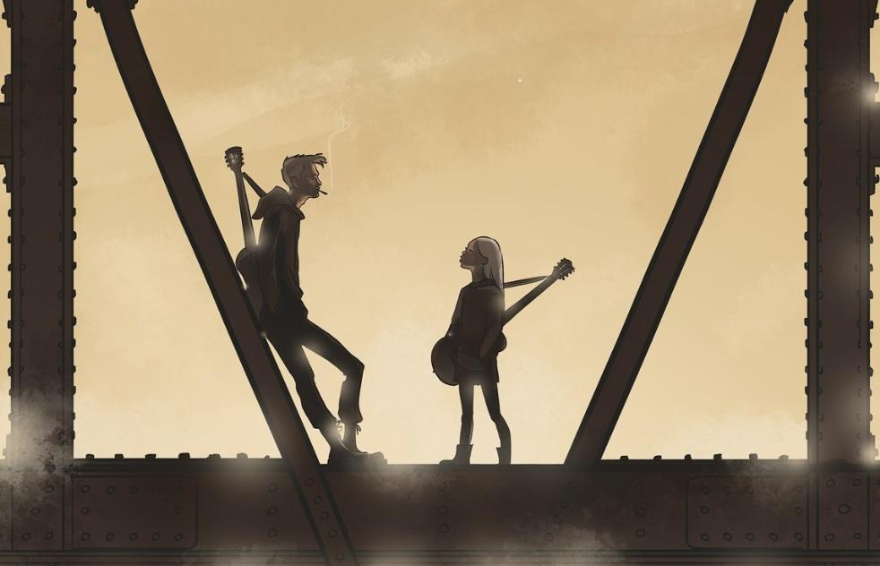 Мост, гость, ночной, руно, веретено, прялка