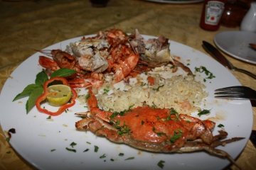 Египет III. Рыбный ресторан