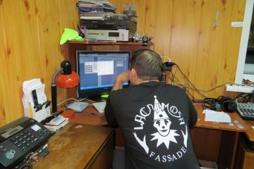 Паша в Краностудии 2012