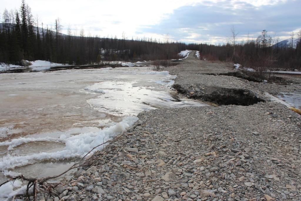 река леда